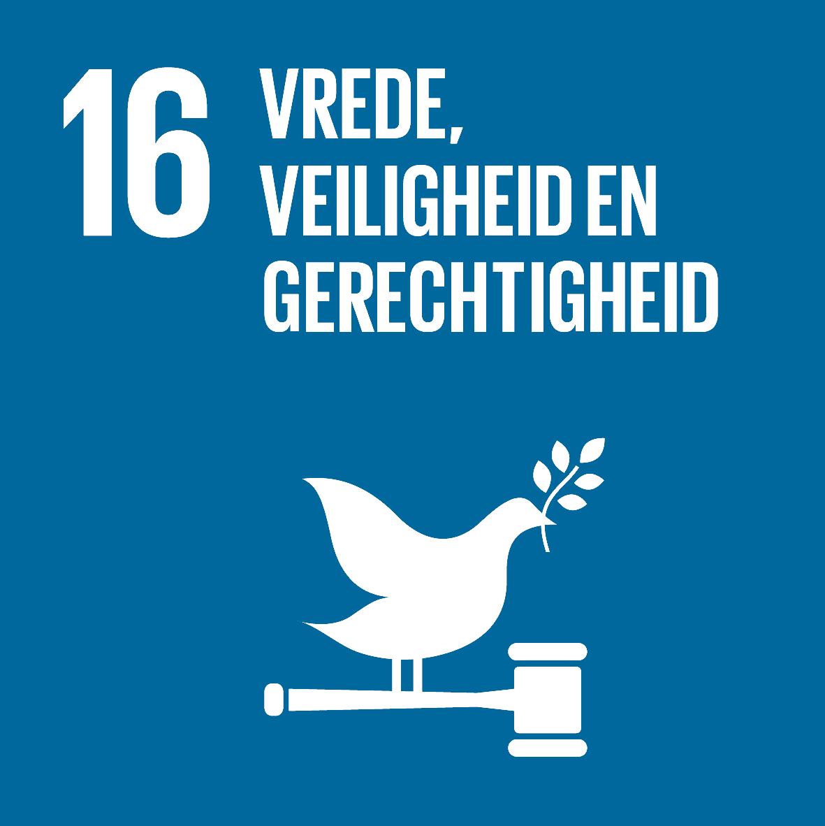 16. Vrede, veiligheid en gerechtigheid